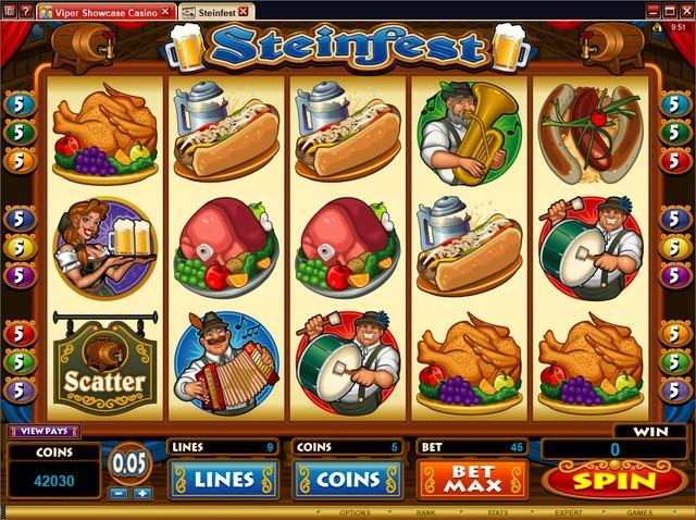 casino games login